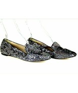 JCrew Collection Darby Sequin Loafers Women's Shoes Flats Size 10 Style ... - $68.99