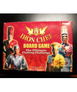 Iron Chef Board Game 2003 Welcome To Kitchen Stadium No Cooking Required... - $14.99