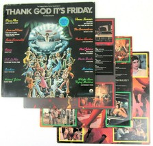 Thank God Its Vendredi Tgif Bande Sonore Vinyle Double LP Record Donna É... - $13.09