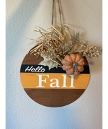 """Hello Fall"" sign decor - $20.00"