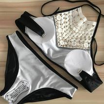 Women's Padded Pushup Bikini Set Swimsuit Bathing Suit Size 10 image 5