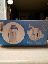 Kiinde Breast Milk Storage Twist Pouch- 6 oz - Pack of 80 - $28.80