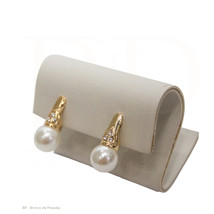 Pair of clip-on earrings made in BRAZIL - $55.00