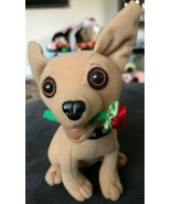 "Taco Bell Dog Plush Talking Chihuahua ""I Think I'm In Love"" Works Rose i... - $9.89"
