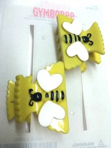 Gymboree Bumble Bee Chic Line Barrette/Clip NWT Yellow Snap Vintage Hive VHTF - $15.95