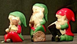 Holiday Elf Figurines AA-192053 Vintage Santa's helpers! image 2