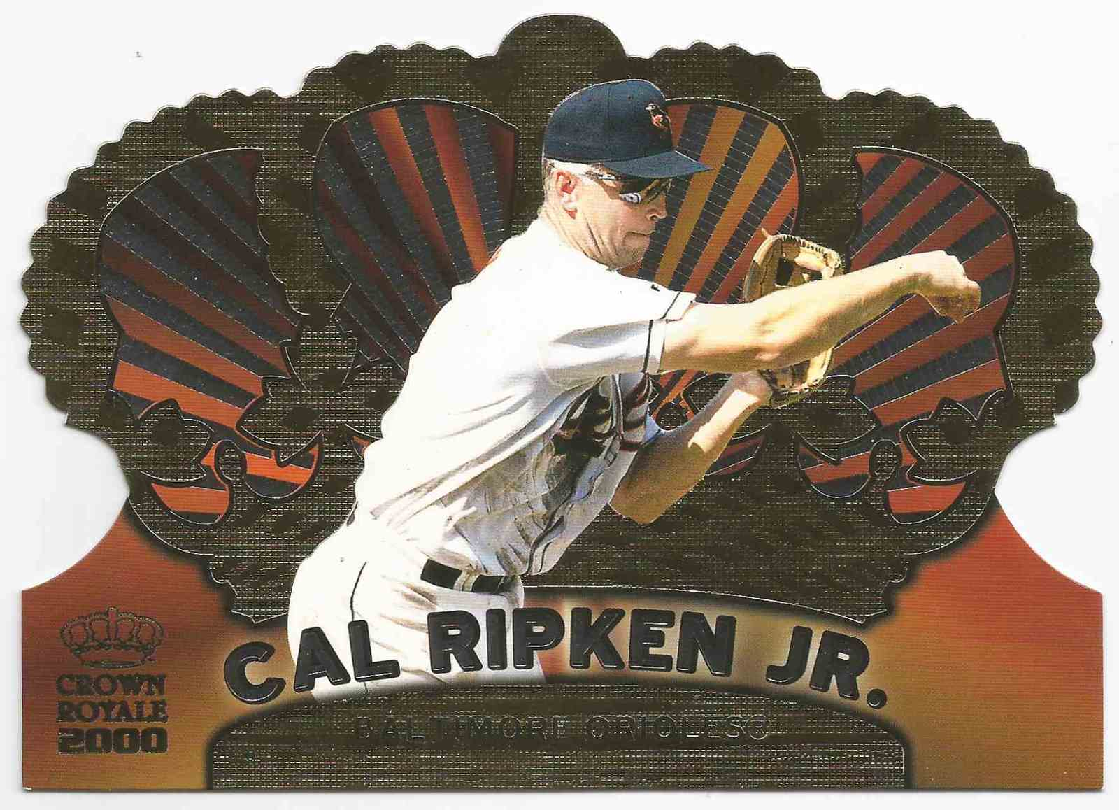 2000 topps crown royale  1 cal ripken  jr.