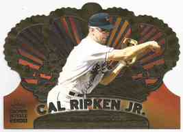 2000 topps crown royale  1 cal ripken  jr. thumb200