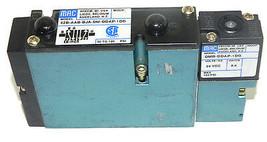 MAC 92B-AAB-BJA-DM-DDAP-1DG SOLENOID VALVE W/ DMB-DDAP-1DG COIL 6.4WATTS, 24VDC