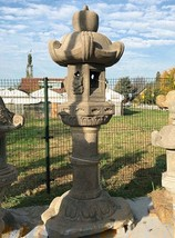 Antique Edo-Meiji Period Japanese Stone Lantern Kasuga Gata - 0101-0084 - $23,950.00