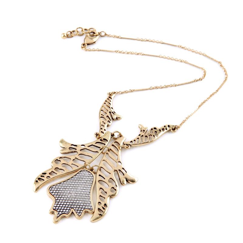 Jewelry Unique Gold Color Necklace Pendant Perfume Women Bijoux Special Store