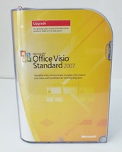 Microsoft Office Visio Standard 2007 Full Version RETAIL Upgrade for existing - $33.66