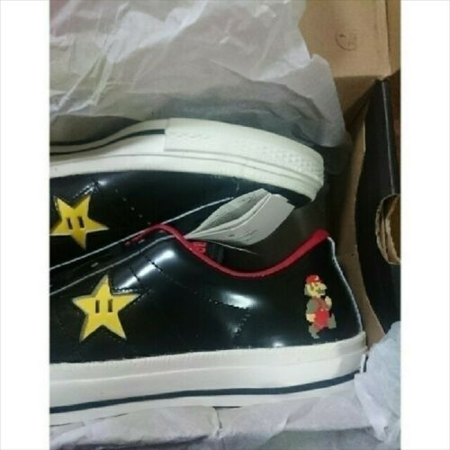 ONE STAR MARIO BROS.OX Nintendo 28cm US9.5 Rare