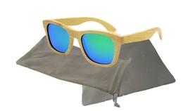 Bamboo sunglasses wooden Polarized Mens Womens Eyewear - $22.09