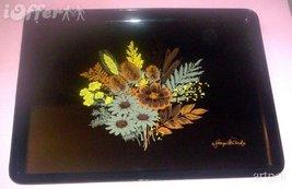 """EAMES ERA MID CENTURY MODERN-- GEORGES BRIARD FLOWER BOUQUET TRAY  16"""" X... - $39.95"""