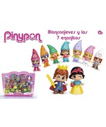 Pinypon - Pack Of Figures Pin And Pon Tale Of Snow White And Seven Dwarfs - $214.88