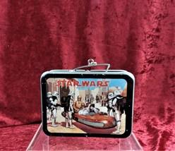VINTAGE COLLECTIBLE HALLMARK STAR WARS MINI LUNCHBOX CHRISTMAS TREE ORNA... - $11.99