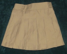 NWT IZOD Khaki Skirt Size 6R 6 Regular - $2.99