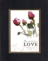 The Greatest of These is Love. . . 8 x 10 Inches Biblical/Religious Verses set i - $11.14