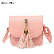 Small Chains Women Bag Candy Color Tassel Messenger Bags Female Shoulder... - $16.66
