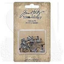 Tiny Clips.  Tim Holtz Idea-ology. 15 mini clamps