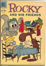 Rocky and His Friends-Four Color Comics #1152 1961-Dell-Jay Ward-TV Series-VG - $56.75