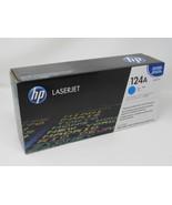 HP Print Cartridge Color LaserJet 124A Cyan Q6001A Genuine/OEM - $42.86