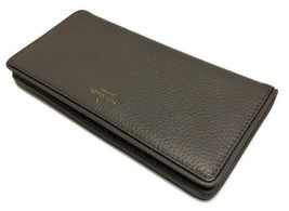 Kate Spade New York Hare Grey Mulberry Street Large Stacy Leather Wallet... - $79.00