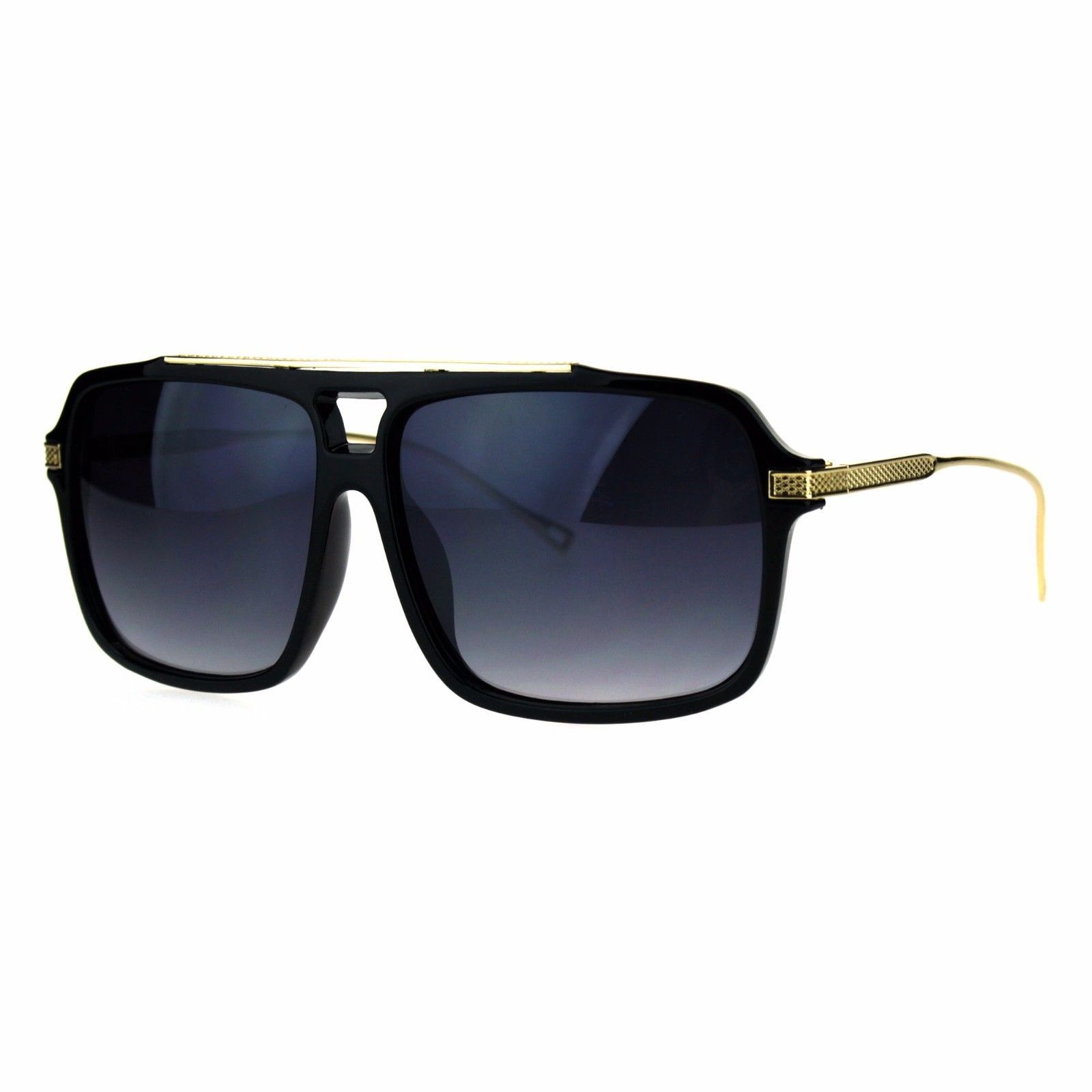 Designer Style Sunglasses Square Frame Unisex Fashion Shades UV 400