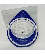 David Chandler Night Sky Planisphere 50-60 North Latitude - $12.86