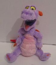 "Disneyland Park Figment Imagination Plush Dragon 9"" Stuffed Disney Beanb... - $17.64"