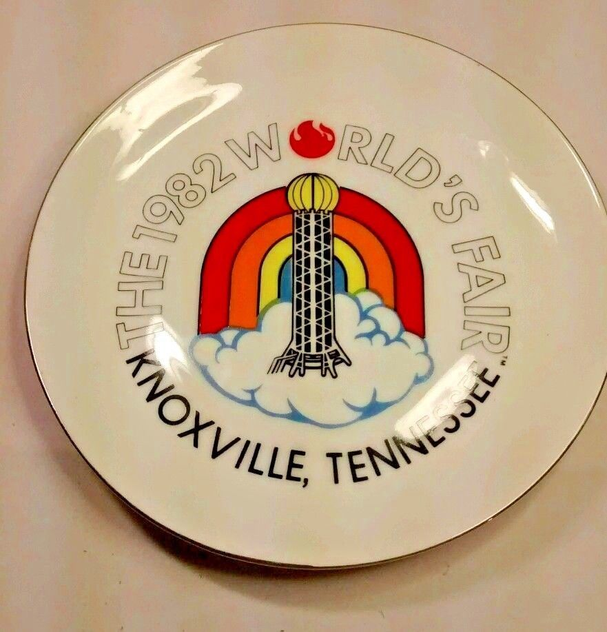 Primary image for Vintage 1982 Worlds Fair Knoxville Tennessee Souvenir Collectible Plate