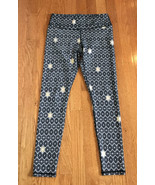 Powerhold by Fabletics Leggings XS or SMALL black gold stars Print Women... - $19.77