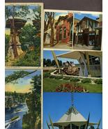 Lot 42 Wisconsin Postcards Linen Chrome Dells M... - $8.99