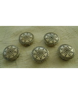 Button Covers, Set of 5 - $20.00