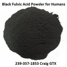 Organic Black Fulvic Acid Powder Minerals for Humans 5 lbs - $850.00