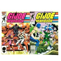 GI Joe Yearbook #3 & 4 Marvel 2 Issue Lot 1987 1988 Snake Eyes Storm Shadow - $9.85