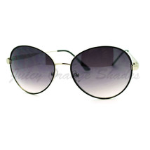 Retro Fashion Sunglasses Thin Round Metal Frame Shades for Women - $7.95