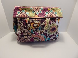 Vera Bradley Plum Purple Floral Hand Bag - $33.65