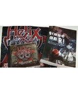 Helix Collectibles T shirt CD Vagabond Bones and Book  - $75.00