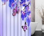 Ds flower shower curtain bath curtain waterproof fabric for bathroom more size wjy thumb155 crop
