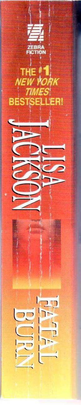 Fatal Burn Lisa Jackson PB Book Fiction Romance Mystery Used