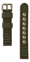 Original Citizen Men's 18mm Green Canvas Cloth Strap Band for Watch Model BM8180 - $49.95