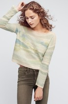 New Anthropologie Frosted Horizon Pullover by Troubadour S Retail $118 NEUTRAL  - $44.55