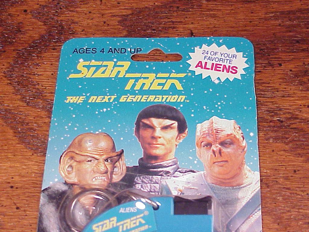 Star Trek The Next Generation Alien Races Viewer, from Fantastics, 1993, sealed