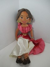 "Disney Store Princess Elena of Avalor Plush Doll 19-20"" - $14.84"