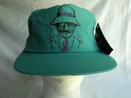 Vintage 90's Neon Blue Panama Jack Original Hat Adjustable Strap NEW Mad... - $69.24