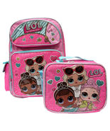 """LOL Surprise! Large 16"""" inches School Backpack & Lunch Box - Licensed Pr... - $54.99"""
