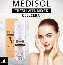 MEDISOL FRESH VITA MIXER CELLCERA 5ml Whitening Freckles Wrinkle Care Korea - $40.50+