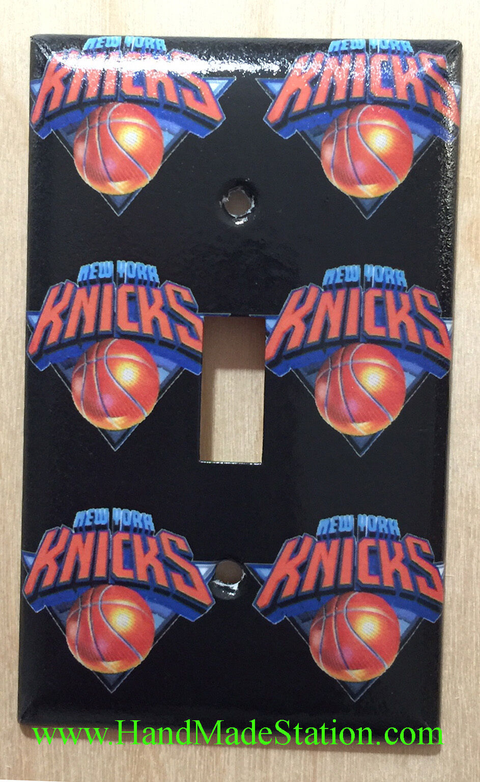 NY Knicks Toggle Rocker Light Switch Power Outlet Wall Cover Plate Home decor